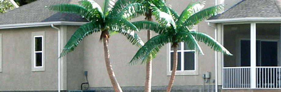 Tropical Palm Trees Cover Image