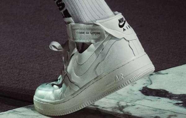 2020 Comme des Garçons x Nike Air Force 1 Mid