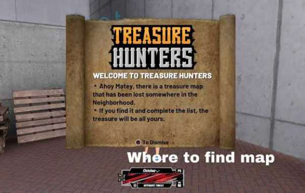 Where to Find the Treasure Map in the NBA 2K20?
