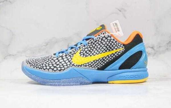 2020 Nike Kobe 6 Helicopter Blue Yellow Will Release Soon