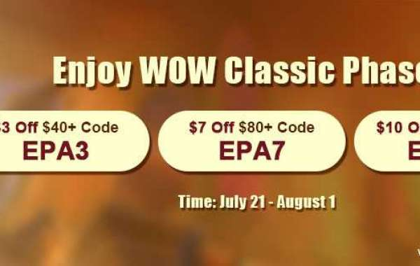 Best Place to buy wow classic gold reviews with Up to 10$ off for WOW Classic Phase 5