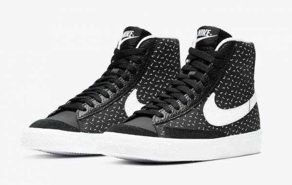 Nike Blazer Mid GS Polka Swoosh Release Kids Size