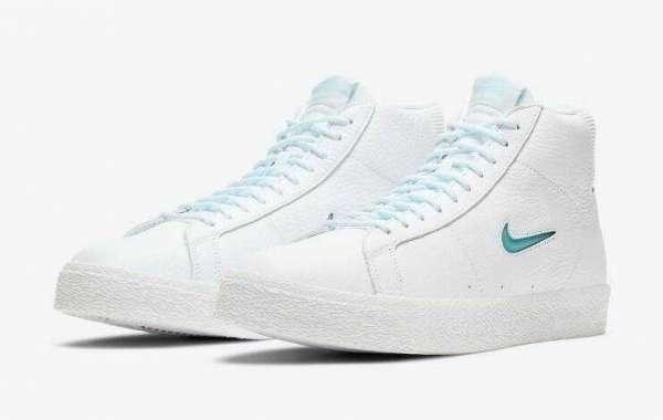 CU5283-100 Nike SB Zoom Blazer Mid Premium Glacier Ice
