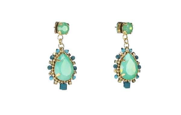Asymmetrical Resort Statement Earrings