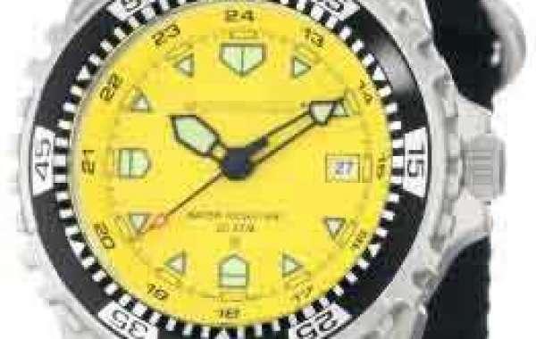 Select High Fashion Custom Black Watch Dial