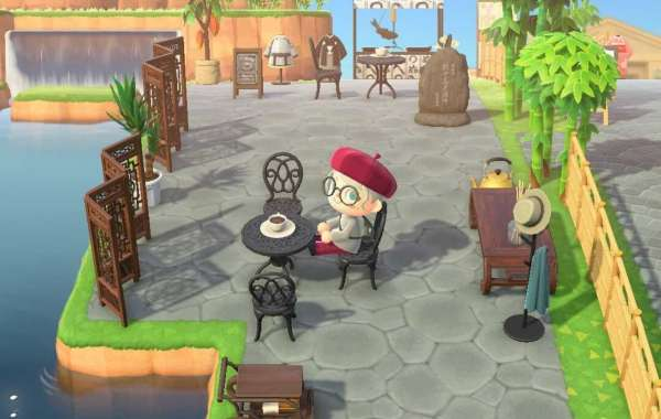How about opening a coffee shop in Animal Crossing?