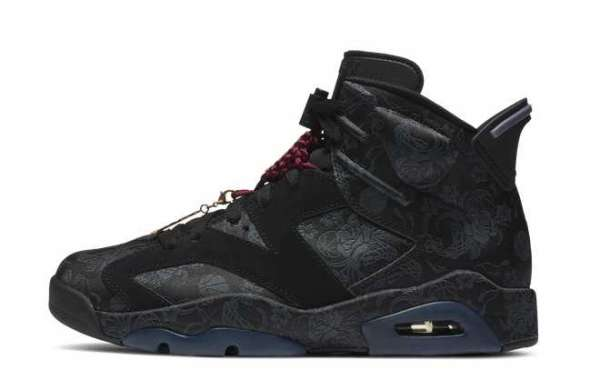 DB9818-001 Black Air Jordan 6 SD WMNS Singles Day 2020