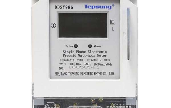 How does the prepaid kwh meter work?