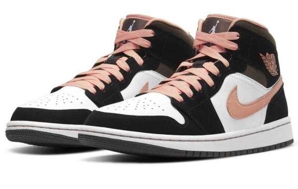 Air Jordan 1 Mid Light Pink Will Release for 2020 Chrismas Holiday