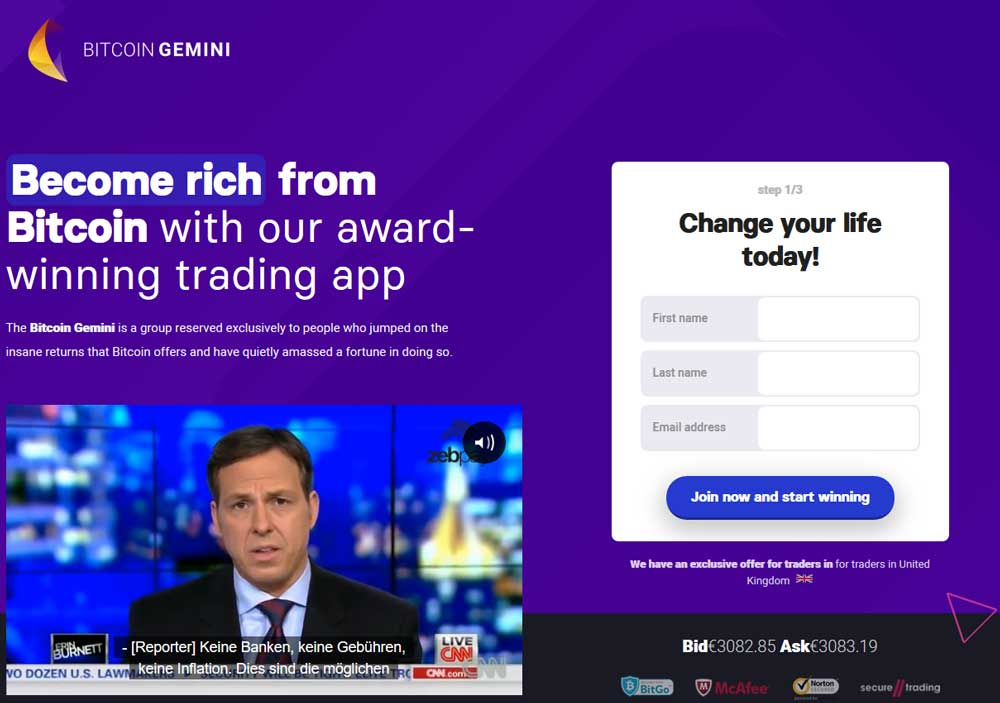Bitcoin Gemini Exchange App | Gemini Exchange Reviews, Signup, Price