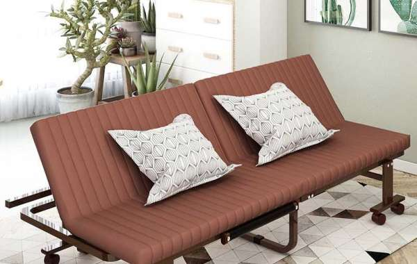 The Cushion On Metal Sofa Bed Is Also Important