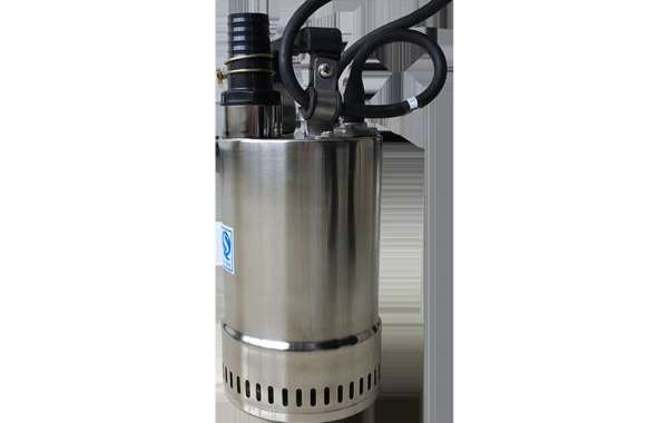 Stainless Steel Submersible Pump Uses Centrifugal Force To Pump Water