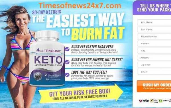 UltraSonic Keto Reviews – Burn Stubborn Fat Quickly With Healthy Diet!