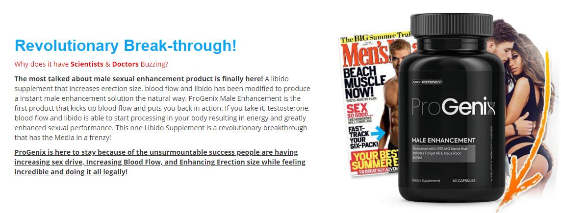 Pro Genix Male Enhancement: (Update 2021) Is ProGenix Male Enhancement Safe? Price & Buy!