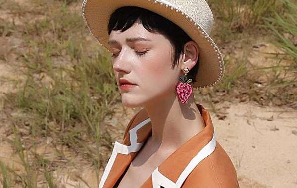 Soutache Flower Hair Pin