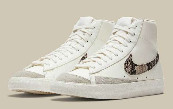 DA8736-100 Nike Blazer Mid '77 Sneakers Coming Soon!