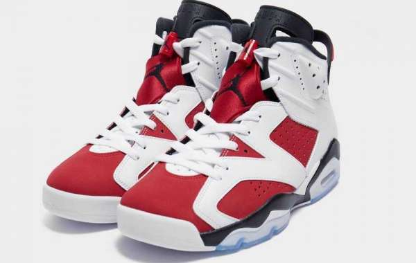 """Air Jordan 6 """"Carmine"""" CT8529-106 will be officially released on February 13th"""