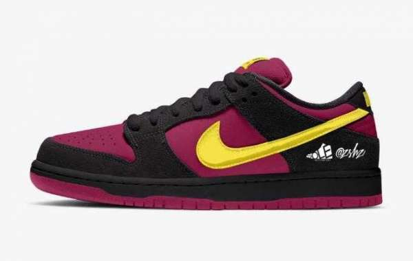 Nike SB Dunk Low Red Plum Will Release the Summer 2021