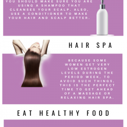 Why Hair Care Is Important During Period Week. | Visual.ly