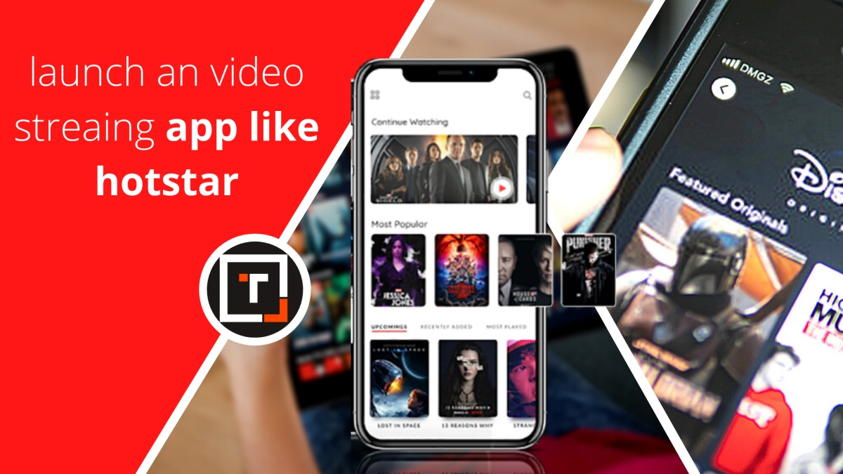 launch an on demand video streaming app like Hotstar