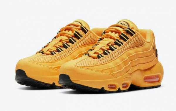 Nike Air Max 95 GS NYC Taxi DH0147-700 Release Yellow Colorways