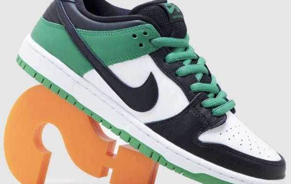 "BQ6817-302 Nike SB Dunk Low ""Classic Green"" will be released in spring"