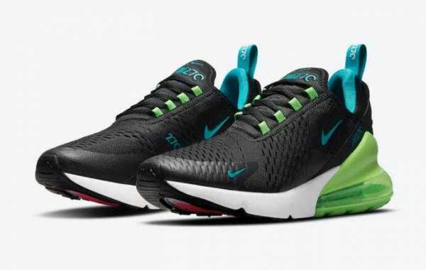 Latest Nike Air Max 270 Black Releasing With Neon Accents