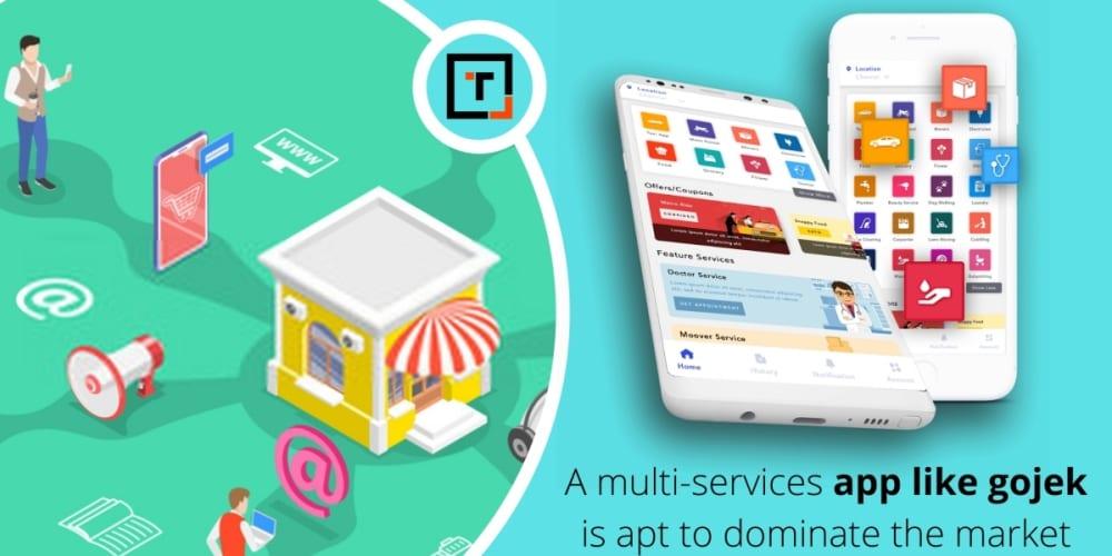 multi services app like gojek