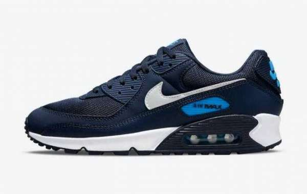2021 Latest UNC-Themed Nike Air Max 90 On The Way