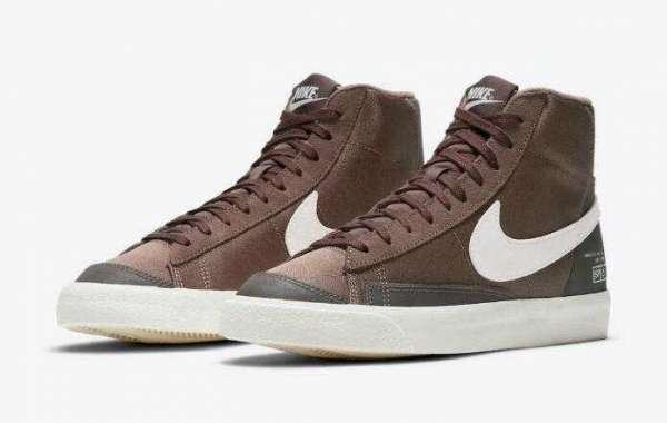 """2021 Latest Nike Blazer Mid Coming With """"Coffee"""" Cover"""