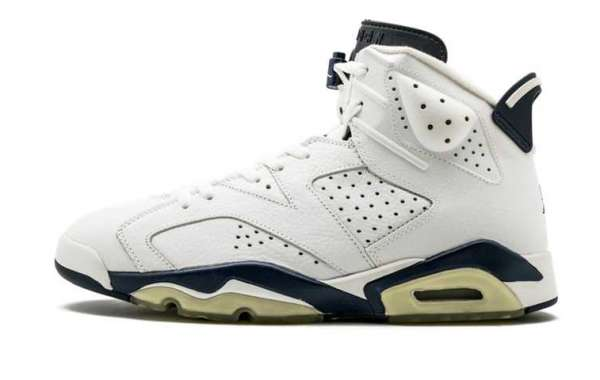 "The Air Jordan 6 ""Midnight Navy"" CT8529-141 Basketball Sneakers For Sale"