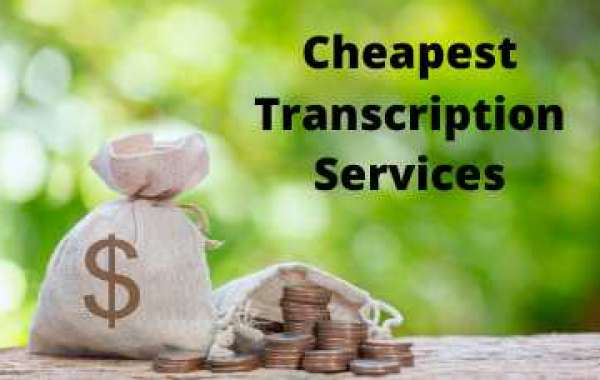 Best Way To Get Cheap transcription Services Provider in US