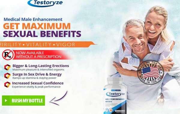 Testoryze Male Enhancement-Increase Sexual Health & Stamina Naturally!