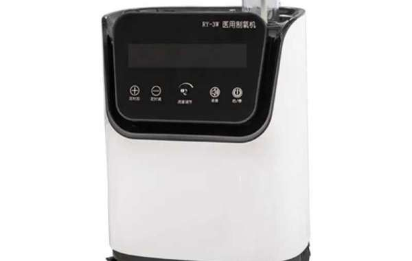 The medical oxygen concentrator does not need to store oxygen, but uses the surrounding atmosphere to provide supplement