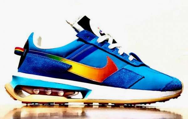 """New 2021 Nike Air Max 270 """"Pre-Day"""" Blue Multi Sneakers"""